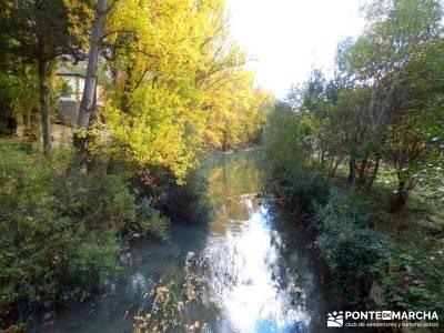 Hoces Río Riaza - Villa Ayllón; tiendas de senderismo ruta gr 10